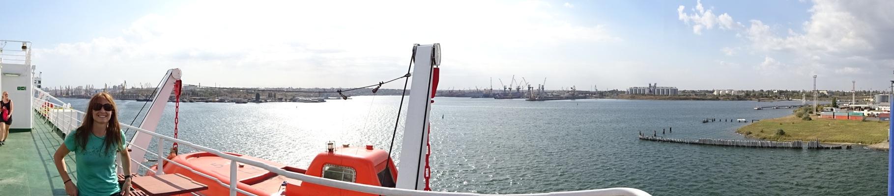 Hafen von Odessa