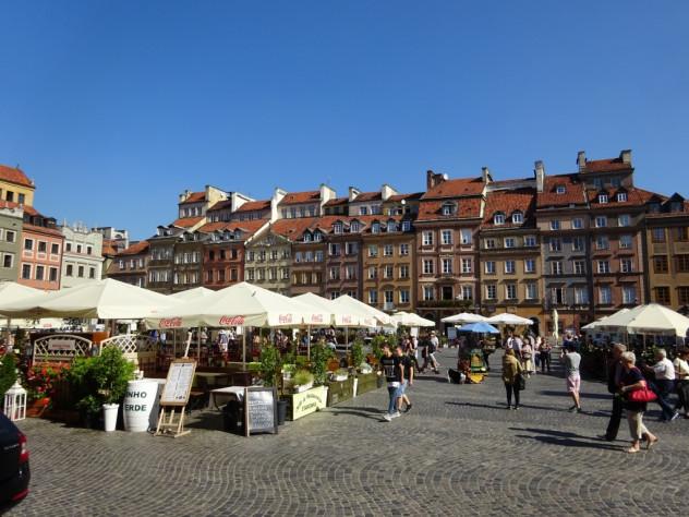 Marktplatz von Warschau