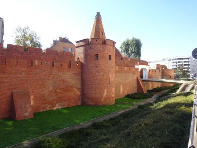 Stadtmauer von Warschau