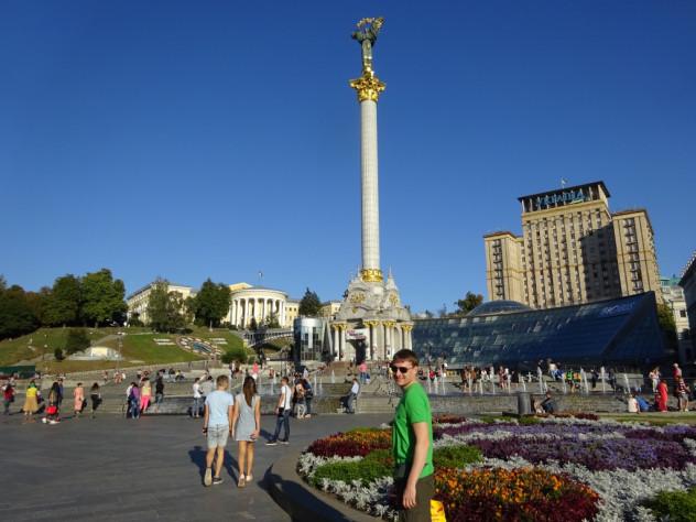 Matthias auf dem Maidan-Platz