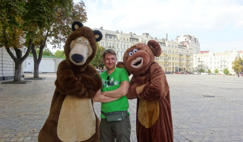 Von den Bären in die Mangel genommen