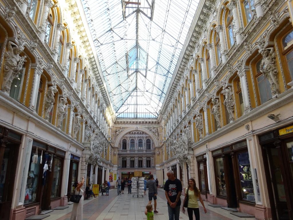 Einkaufspassage in Odessa