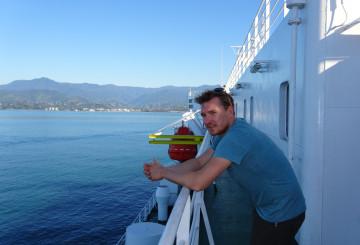 Überfahrt über das Schwarze Meer