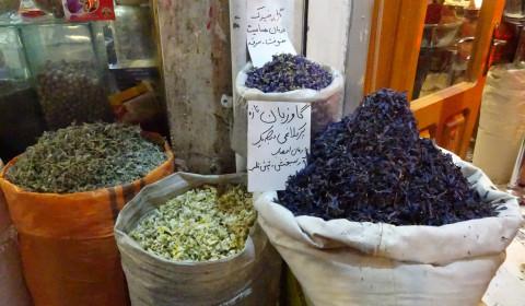 Tee im Basar von Tabriz