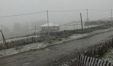 Wintereinbruch in Ushguli
