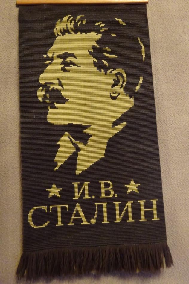 Stalin-Poster in Gori