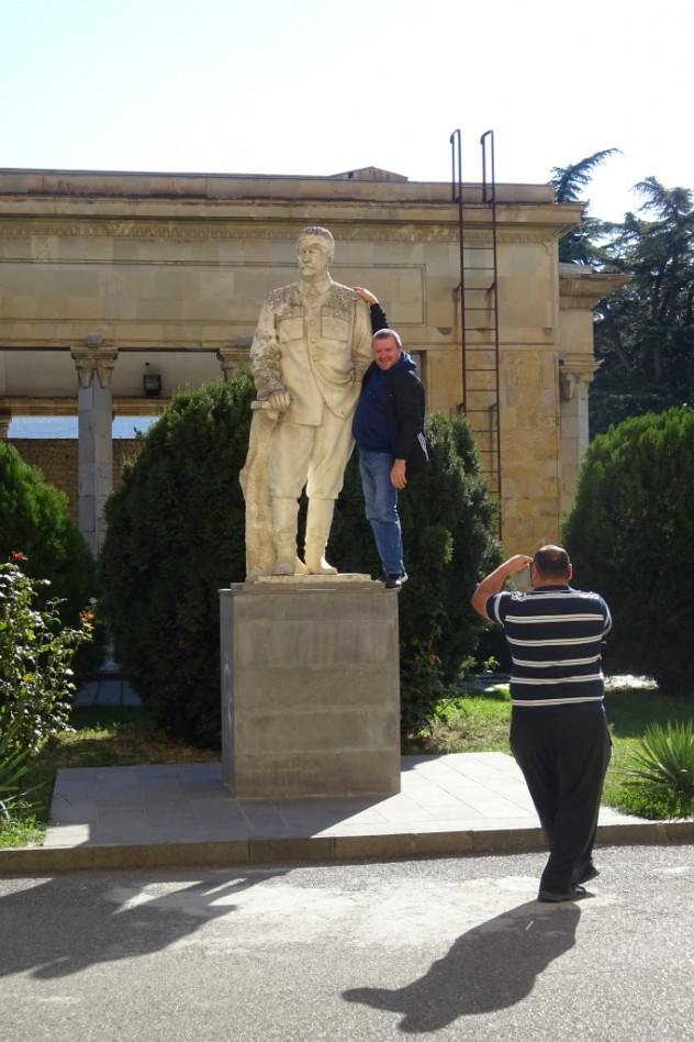 Stalin-Statue in Gori
