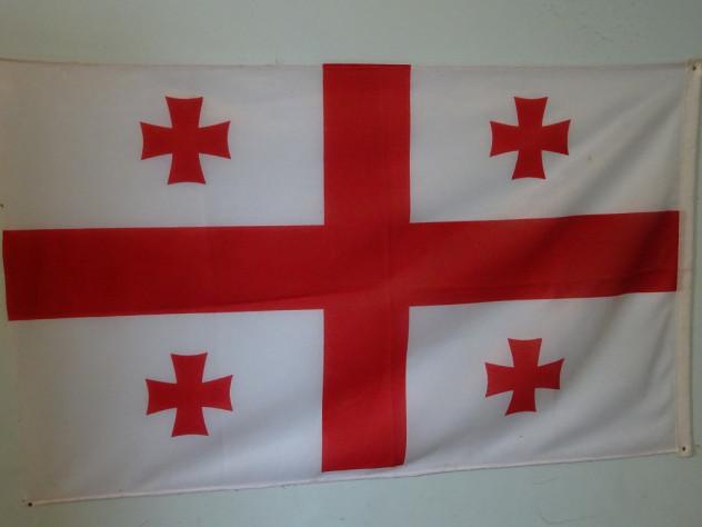 Georgische Flagge