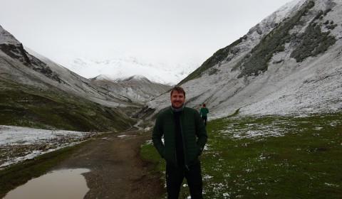 Schnee in Ushguli
