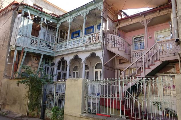 Villa in der Altstadt von Tiflis
