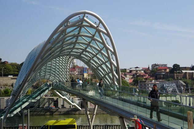 Friedensbrücke Tiflis