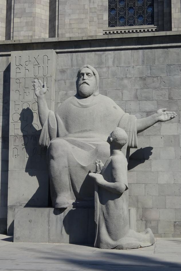 Mesrop Mashot und das armenische Alphabet