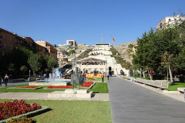 Kaskade in Jerewan