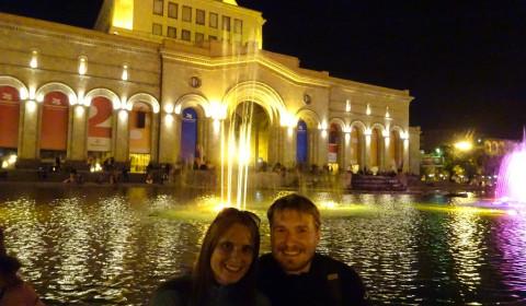 Tabea & Matthias am Platz der Republik