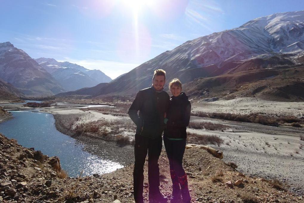 Landschaft im Pamir