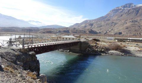 Grenzbrücke Tadjikistan zu Afgahnistan