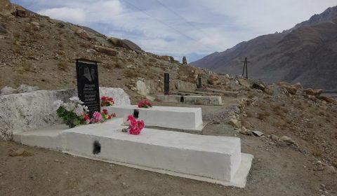 Friedhof in Langar