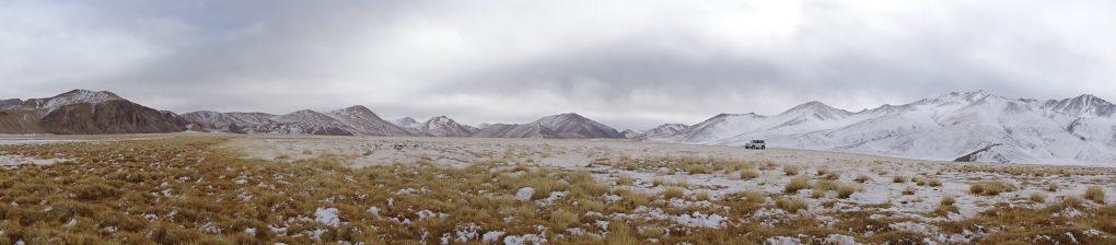 Landschaft am Bulunkul See