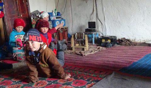 Familie in Bash Gumbez