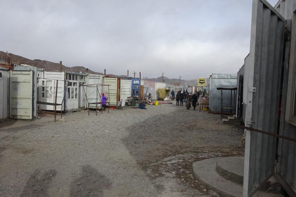 Container-Markt in Murgab