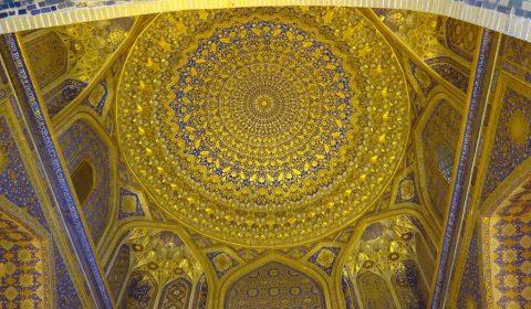 Vergoldete Moschee