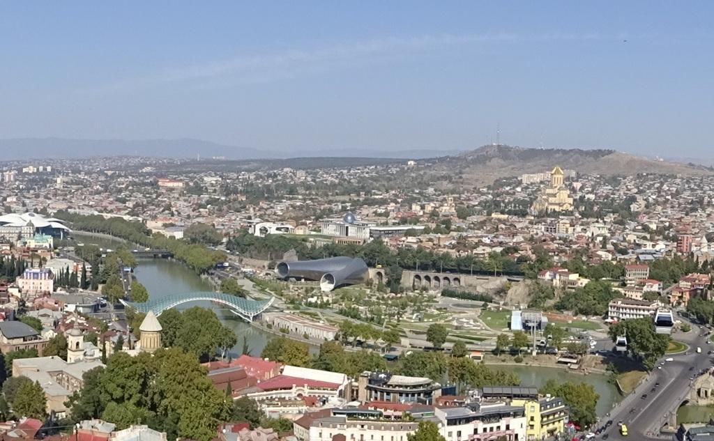 """Tiflis - die """"herrliche Stadt"""""""