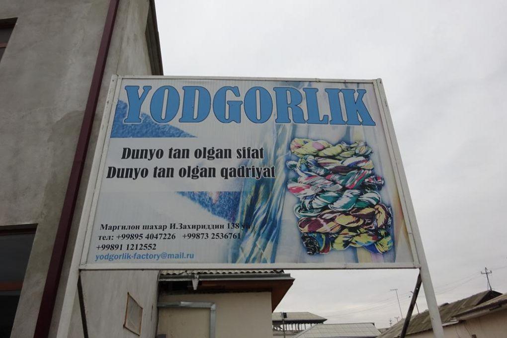 Seidenfabrik Yordgorlik in Fergana