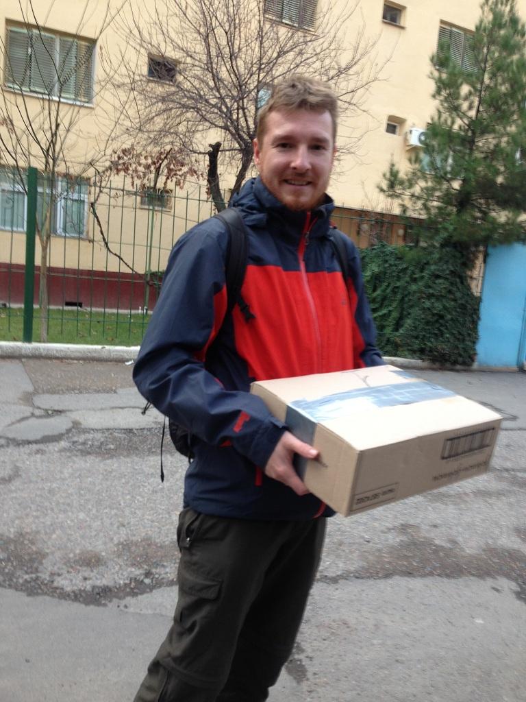 Paket in Taschkent