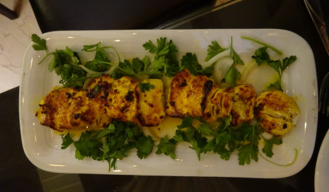 Kebab im Restaurant