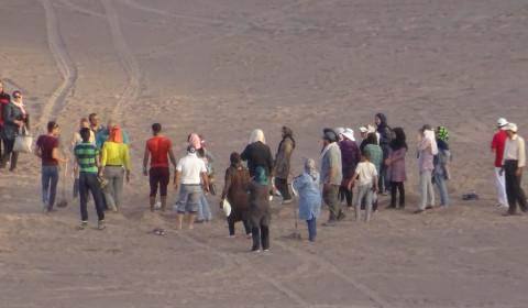 Musik und Tanz in der Wüste