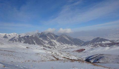 Berge bei Bischkek