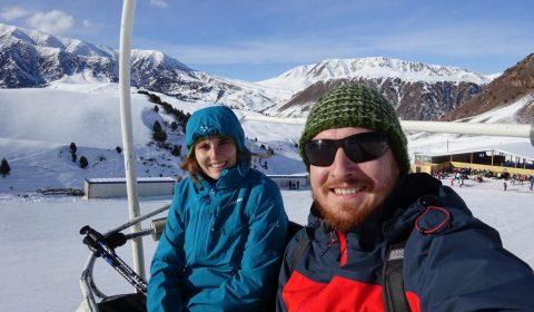 Skigebiet Chunkurchak bei Bischkek