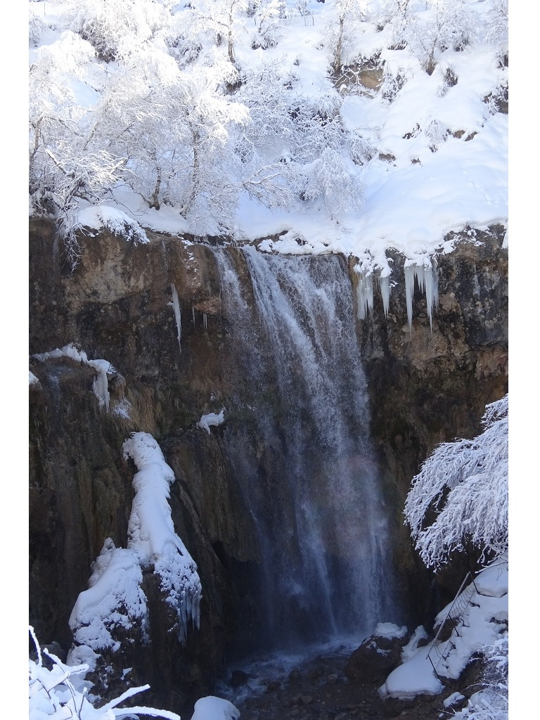 Wasserfall in Arslanbob