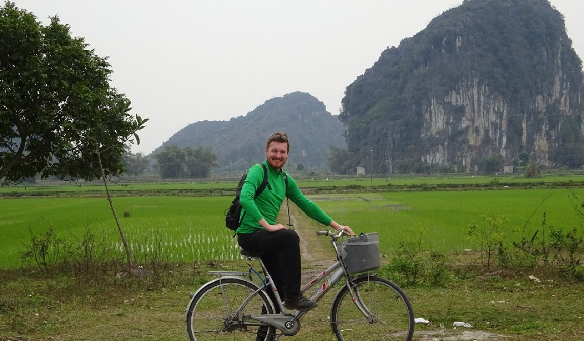 Mit Roller, Boot und Fahrrad durch die Halong Bucht