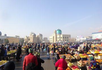 Ankunft in Tadjikistan