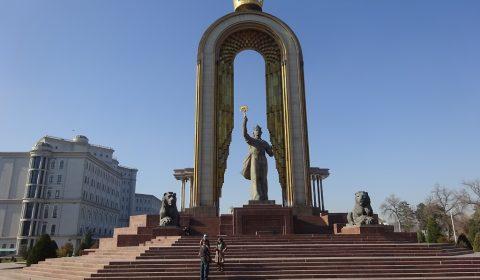Somoni Statue