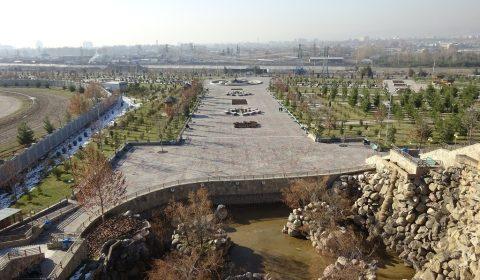 Panorama vom Siegespark