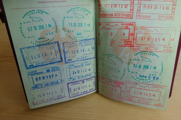 Reisepassseite