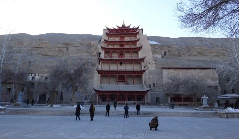 Magao-Grotte in Dunhuang