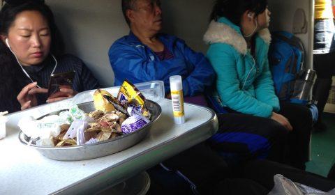 Im Zug von Kunming nach Hekou