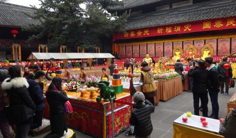 Wuhou Tempel