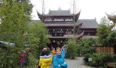 Tabea im Wuhou Tempel