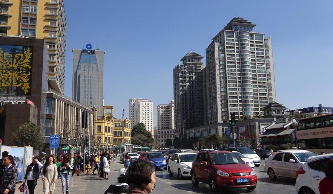 In den Städten Chengdu und Kunming