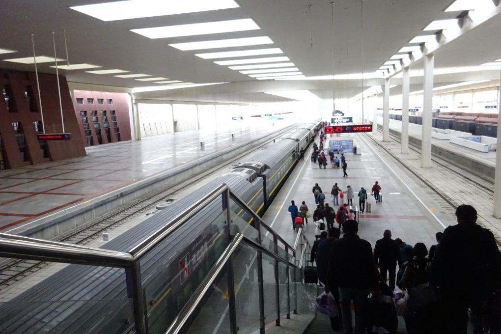 Zug von Lhasa nach Chengdu