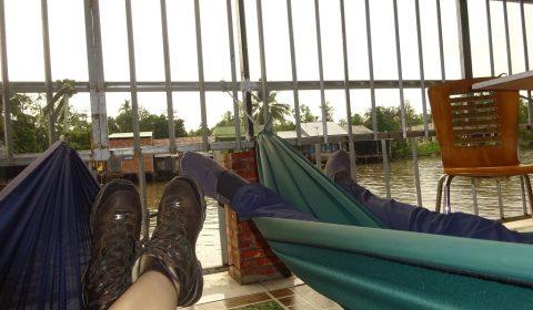 Erholung am Mekong