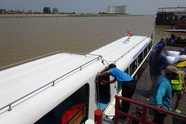 Speedboot nach Phnom Penh