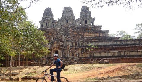 Matthias vor Angkor Thom