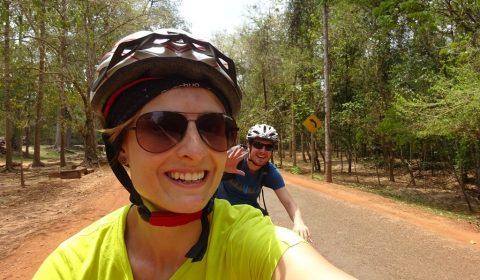 Fahrradtour im Angkor Park