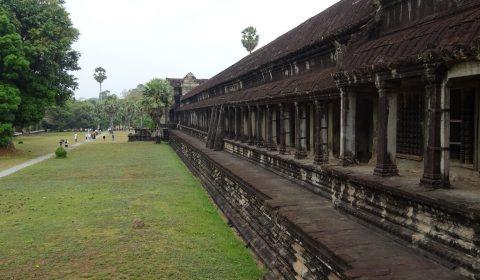 Außenmauern von Angkor