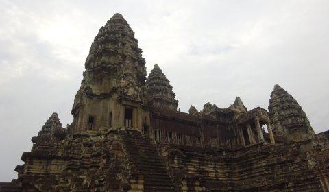 Türme des Angkor Tempels